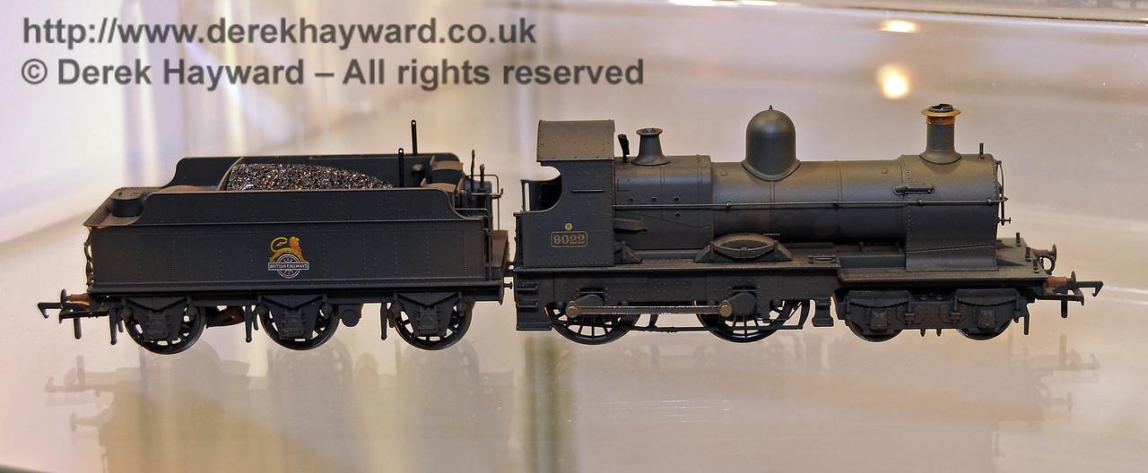 Bachmann Dukedog.  Model Railway Weekend, Horsted Keynes, 30.06.2013  9352