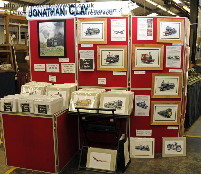 Jonathan Clay Transport Art.  Model Railway Weekend, Horsted Keynes, 30.06.2013  9323