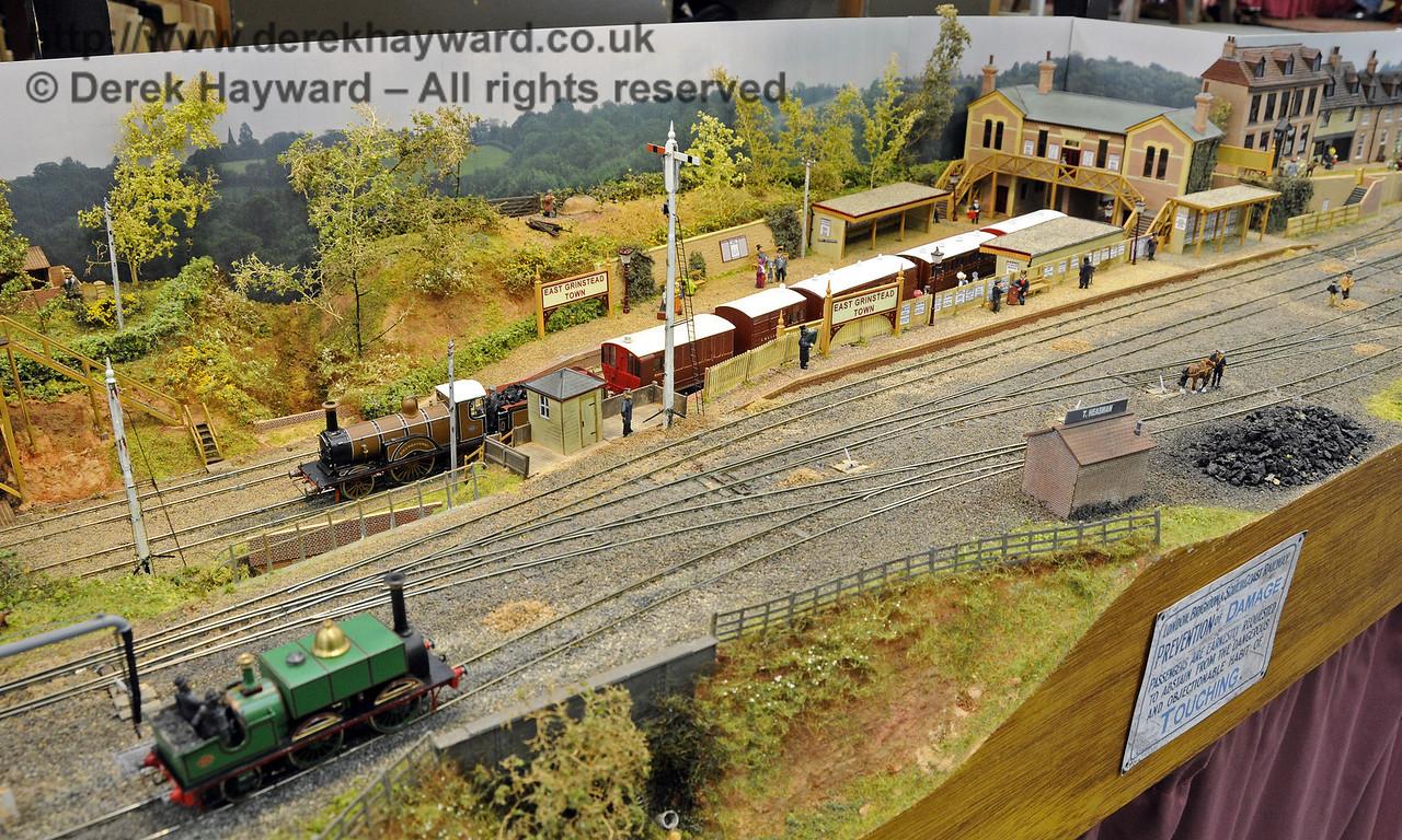 East Grinstead Town Station.  Model Railway Weekend, Horsted Keynes, 30.06.2013  9311