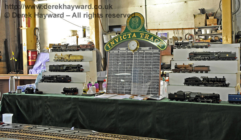 O Gauge Model Railway Association, Invicta Track.  Model Railway Weekend, Sheffield Park, 29.06.2013  9214