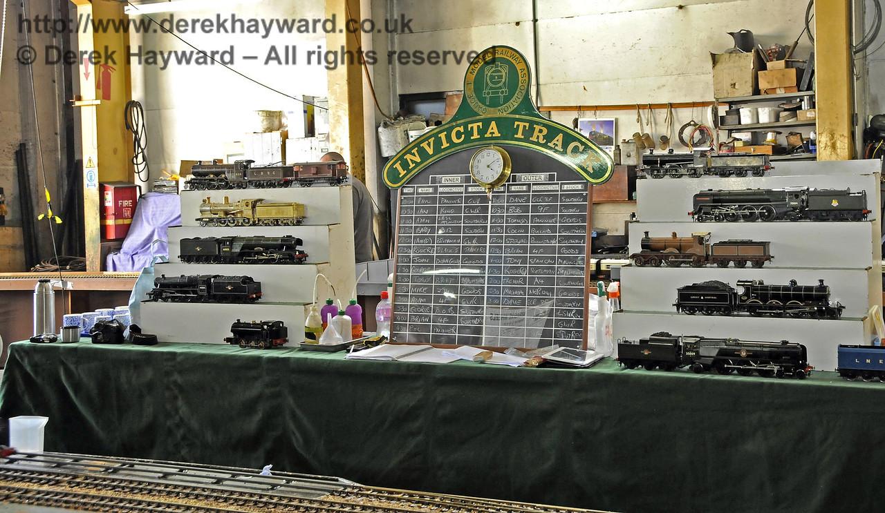 O Gauge Model Railway Association, Invicta Track.  Model Railway Weekend, Sheffield Park, 29.06.2013  9214