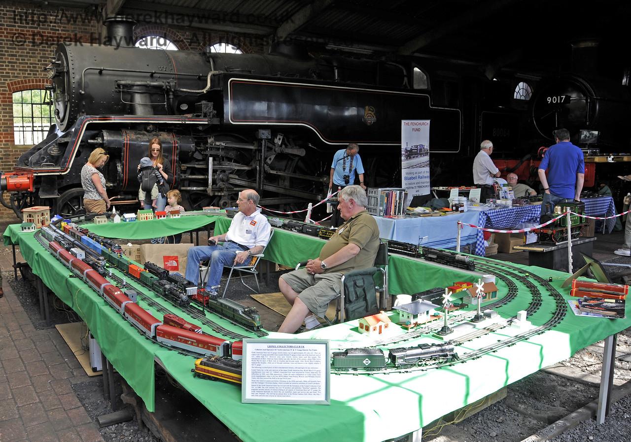 Lionel Collectors Club UK; North American trains.  Model Railway Weekend, Sheffield Park, 29.06.2013  9201