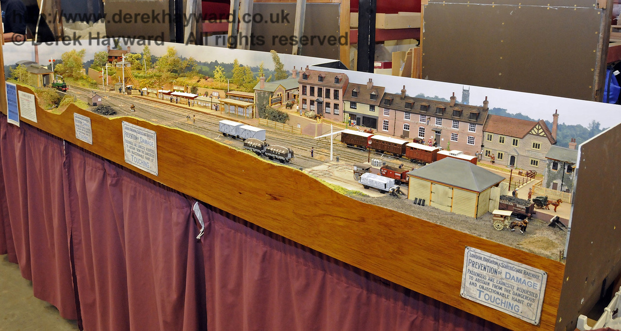 East Grinstead Town Station.  Model Railway Weekend, Horsted Keynes, 30.06.2013  9310