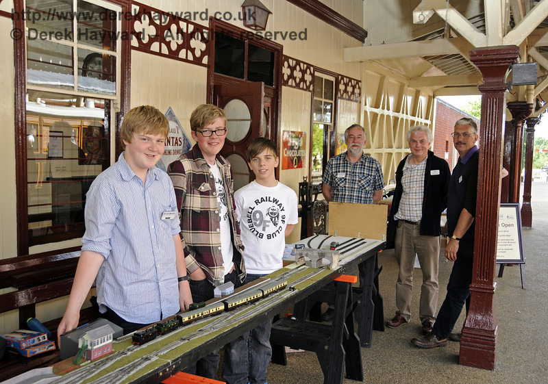 9F Club Stand, Model Railway Weekend, Sheffield Park, 29.06.2013  9236