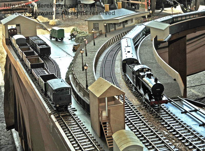 O Gauge Model Railway Association, Invicta Track.  Model Railway Weekend, Sheffield Park, 29.06.2013  9215