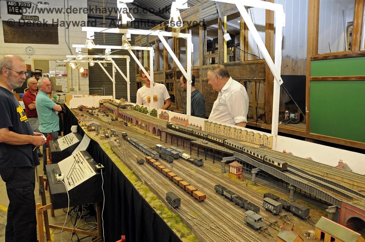 Brighton Road circa 1912.  Model Railway Weekend, Horsted Keynes, 30.06.2013  9317