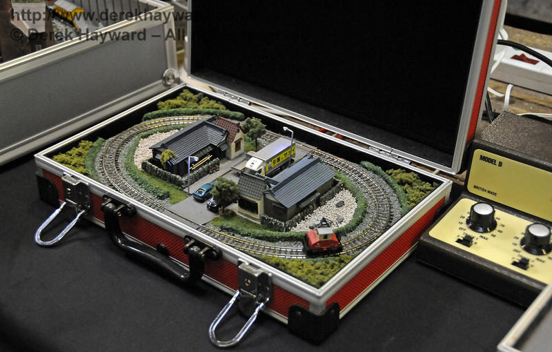 Layouts in a briefcase.  Model Railway Weekend, Horsted Keynes, 30.06.2013  9340