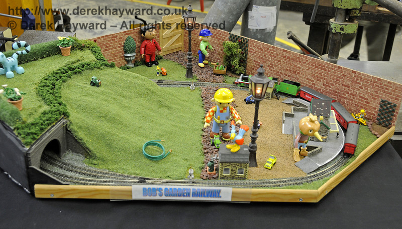 Bob's Garden Railway.  Model Railway Weekend, Horsted Keynes, 30.06.2013  9334