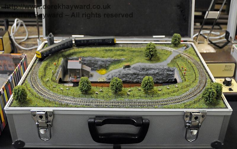 Layouts in a briefcase.  Model Railway Weekend, Horsted Keynes, 30.06.2013  9335