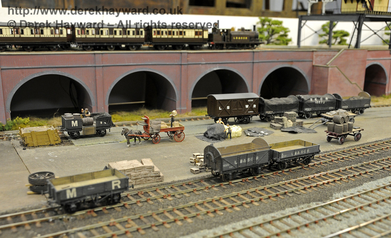 Brighton Road circa 1912.  Model Railway Weekend, Horsted Keynes, 30.06.2013  9321
