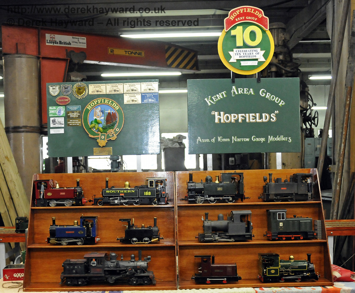 Model Railway Weekend, Sheffield Park, 28.06.2014  10789