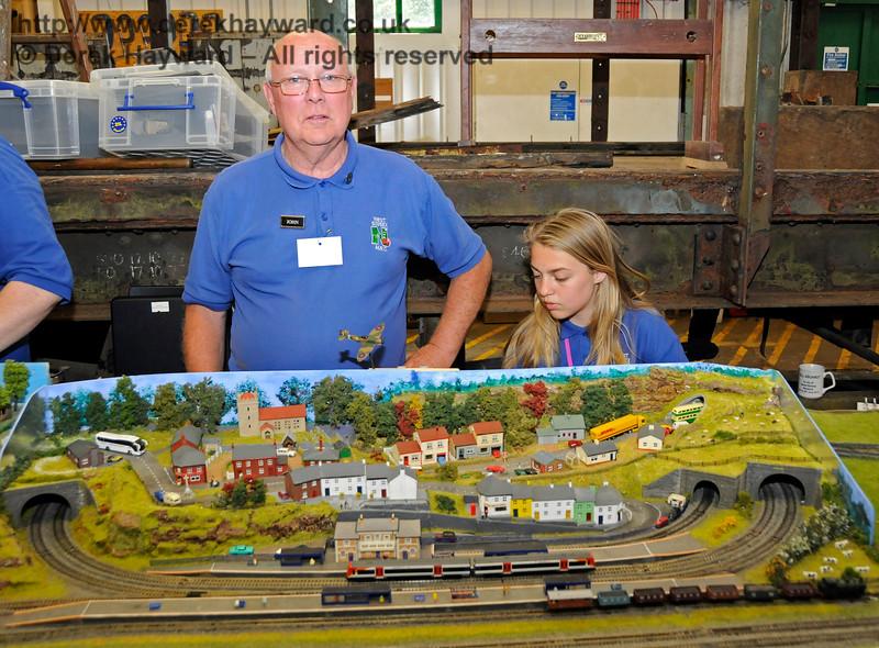 Model Railway Weekend, Horsted Keynes.  27.06.2015  13068