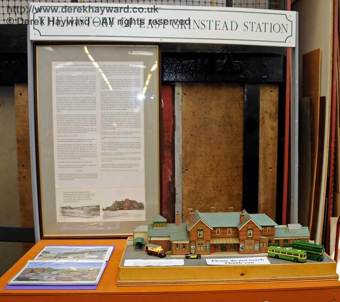 The History of East Grinstead Station, Model Railway Weekend, Horsted Keynes.  27.06.2015  13053