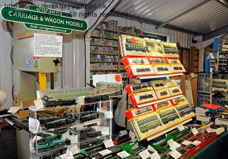 Carriage and Wagon Models, Model Railway Weekend, Horsted Keynes.  27.06.2015  13077