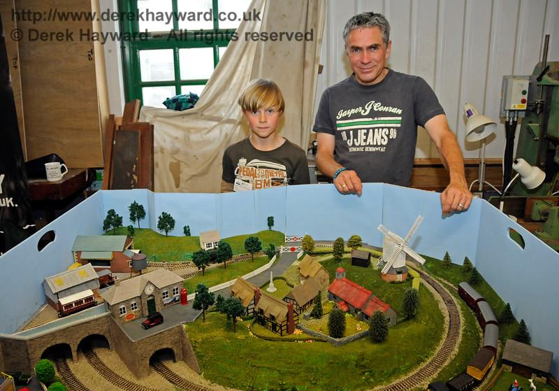 Model Railway Weekend, Horsted Keynes.  27.06.2015  13078