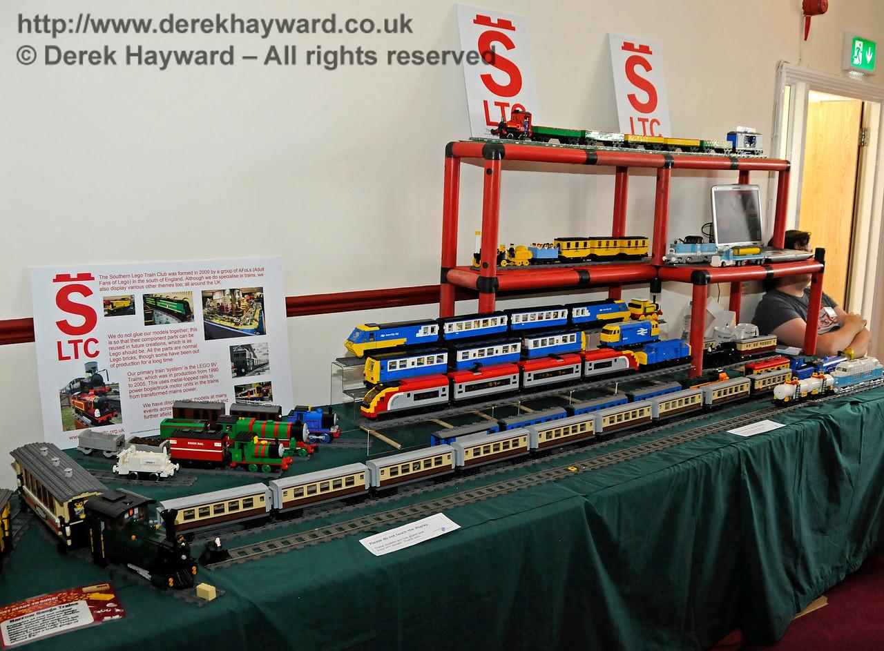 Southern Lego Train Club, Model Railway Weekend, Sheffield Park.  27.06.2015  13094
