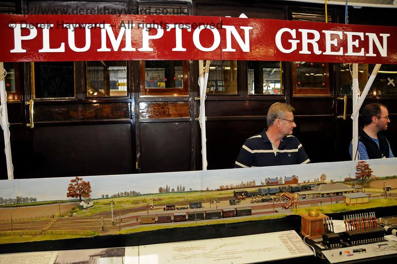 Plumpton Green, Model Railway Weekend, Horsted Keynes.  27.06.2015  13064