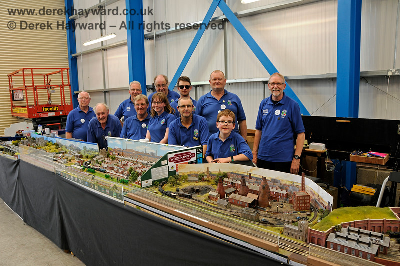 The West Sussex Model Railway Club operate the Woodhampton layout at the Model Railway Weekend, Sheffield Park, 29.06.2019 19549