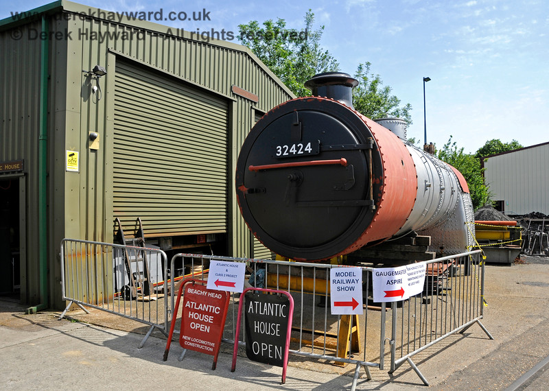 Atlantic Project.  Model Railway Weekend, Sheffield Park, 29.06.2019 19567