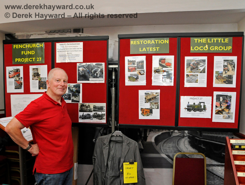The Project 27 stand.  Model Railway Weekend, Sheffield Park, 29.06.2019 19541