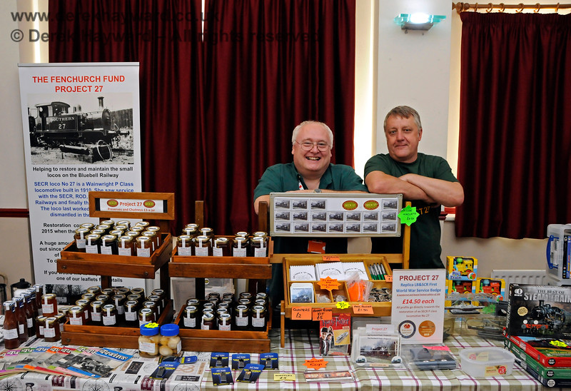 The Project 27 stand. Model Railway Weekend, Sheffield Park, 29.06.2019 19539