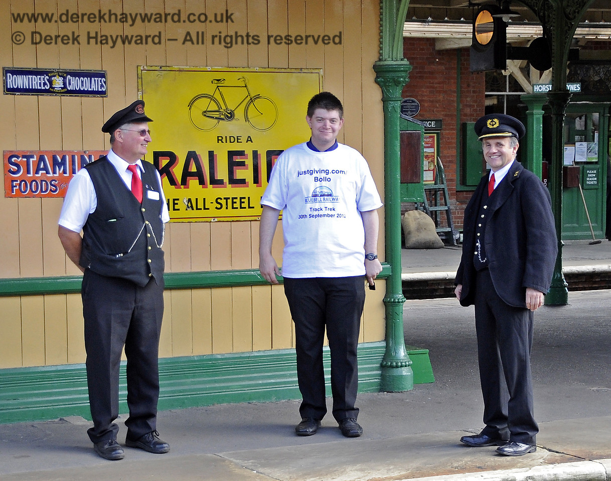 Some of the team at Horsted Keynes.  15.09.2012  5713