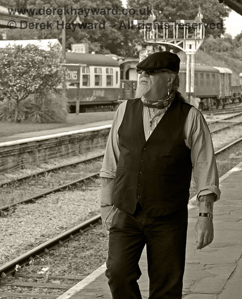An Edwardian Gent at Horsted Keynes.  22.06.2013  7283