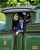 Phil Gain in charge of 263 near Horsted Keynes.  18.05.2014  9389