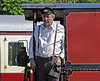 Ian Wright, Shedmaster, in charge of Baxter at Horsted Keynes. 18.05.2014  9459