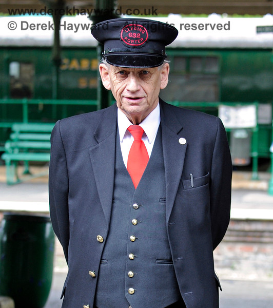 Robert McLean on duty at Horsted Keynes. 10.05.2015 11113
