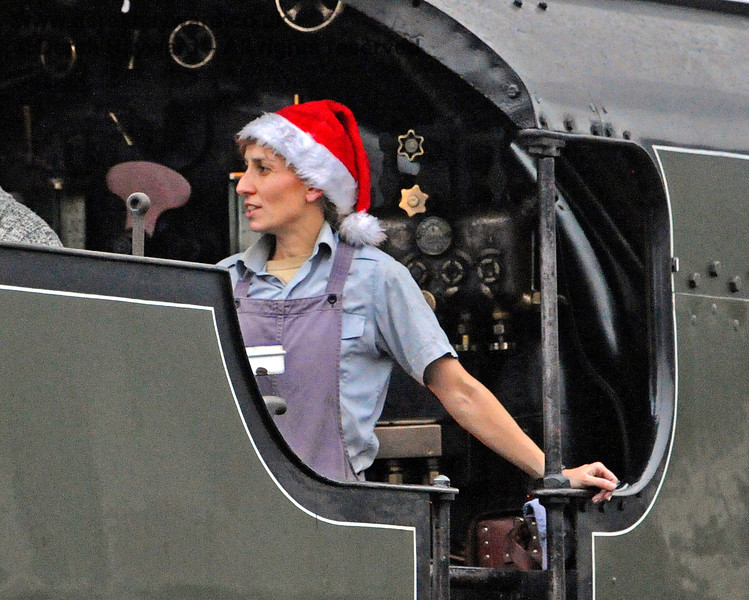 It's Santa season on 847 at Horsted Keynes. 18.12.2016 14762