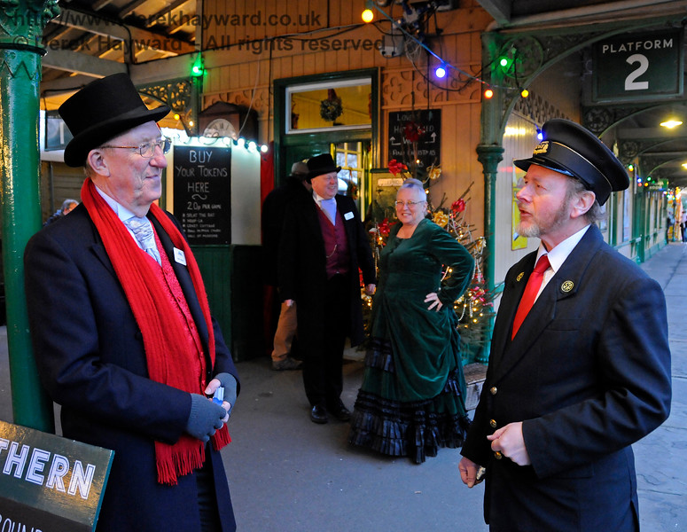 Some of the Christmas team at Horsted Keynes. 20.12.2014 11883