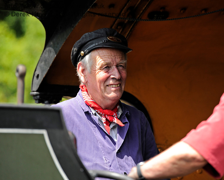 A smiling face on board 847 at Horsted Keynes. 18.07.2015 11634