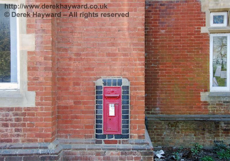 Ardingly Station still retains it's post box.