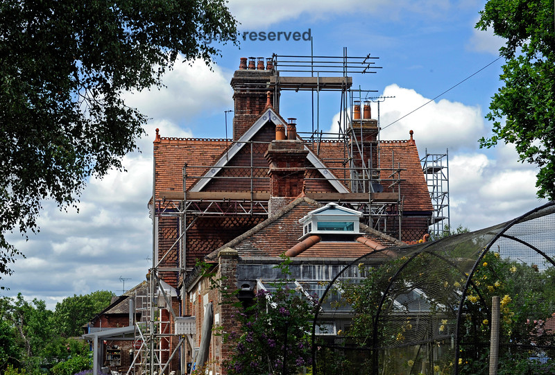 Barcombe Station, with refurbishment in progress. 20.06.2020 17970  Please note that this is private property.  Images taken by arrangement, and with the permission of the owners.