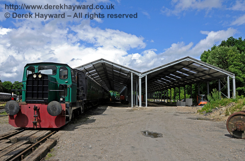 Horsted Keynes Carriage Shed (OP4)  02.07.2016  15664