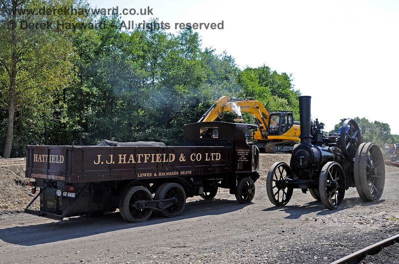 These modern machines are all very well, but clearly Infrastructure should be using steam power for it's Horsted Keynes projects. 08.08.2015 13485