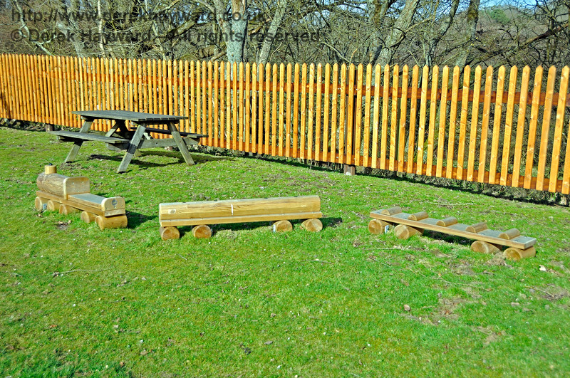 The Play Area at Kingscote.  23.03.2018 18146