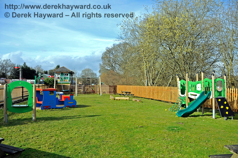 The new Play Area at Kingscote.  23.03.2018 18154