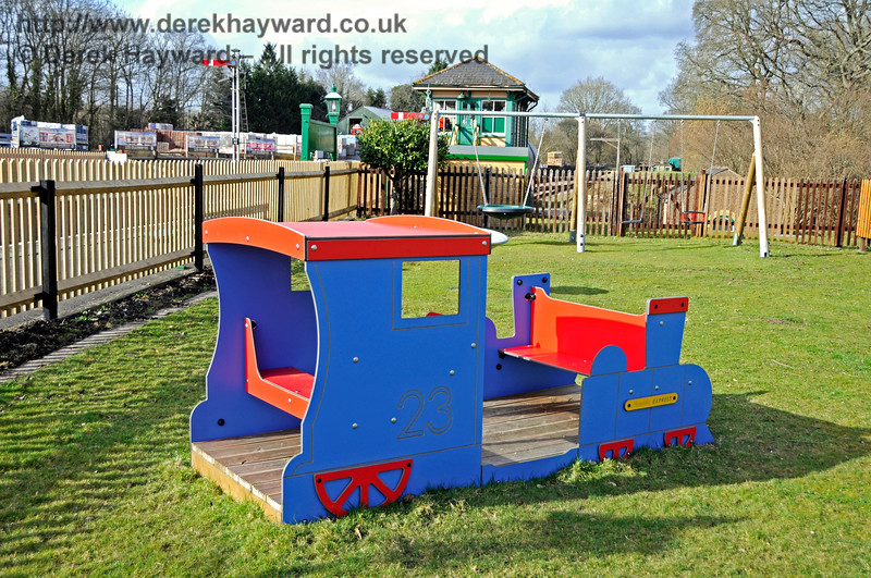 The Play Area at Kingscote.  23.03.2018 18145