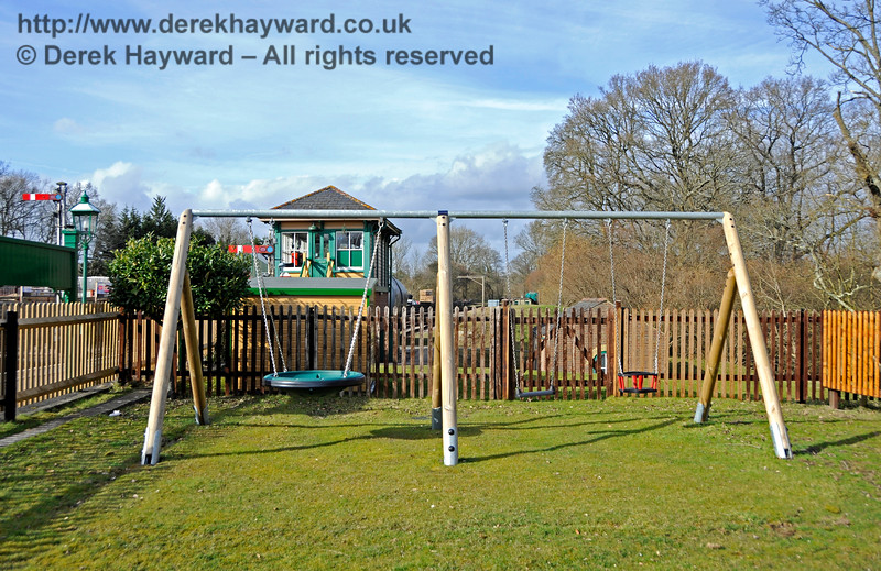 The new Play Area at Kingscote.  23.03.2018 18149