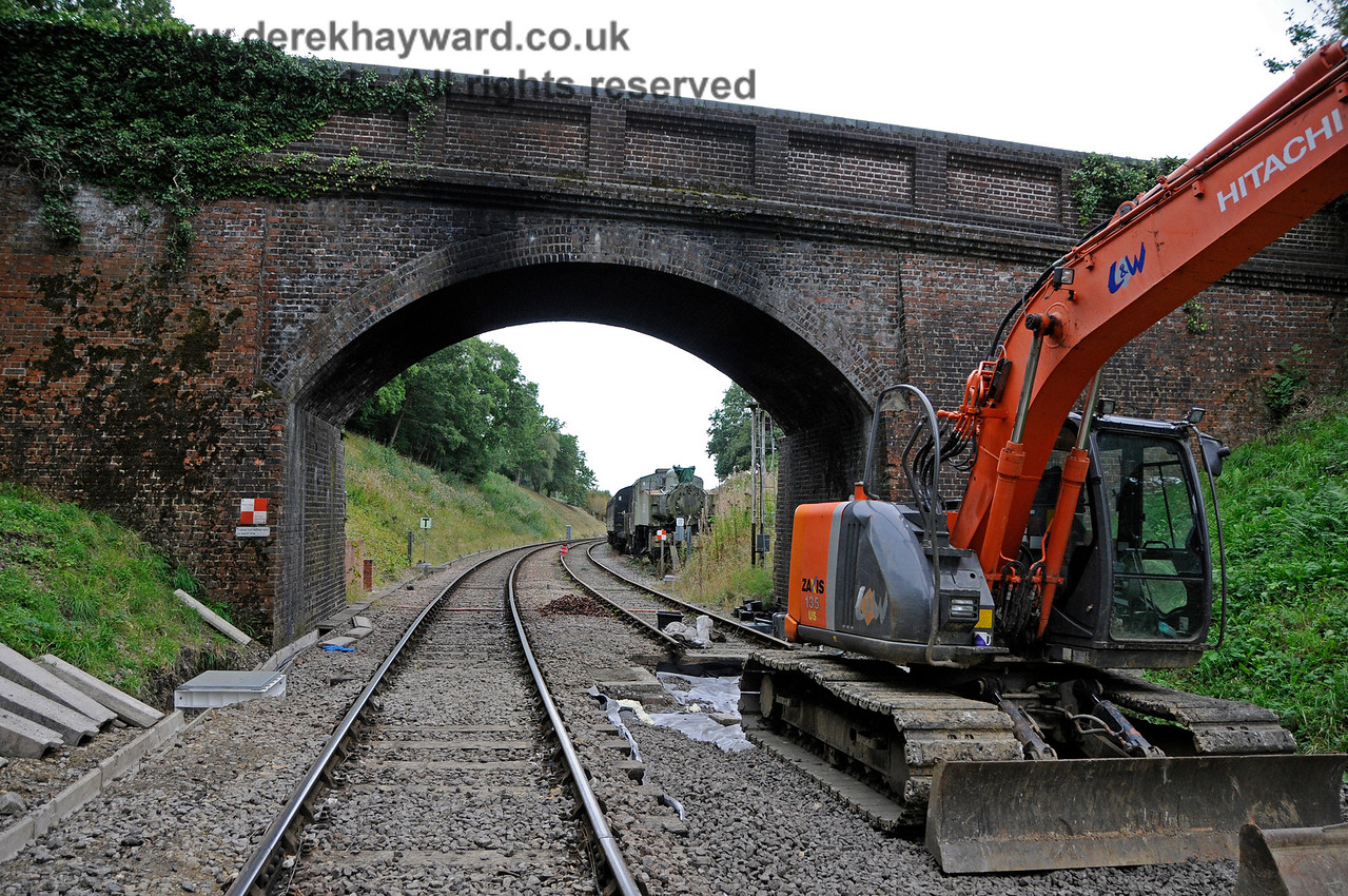 Leamland Bridge track improvements, 24.09.2016  16385