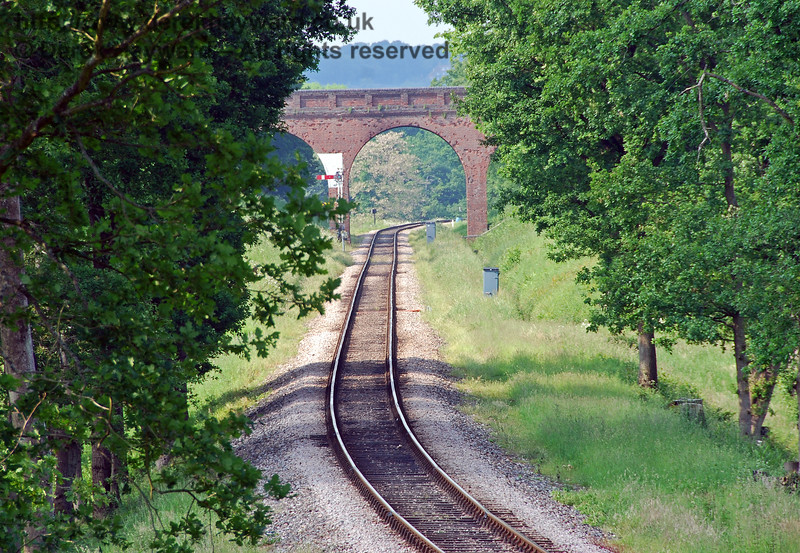 A further view with a longer lens looking north towards Three Arch Bridge. 03.06.2007