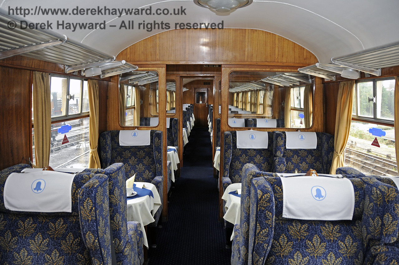 """Inside the Wealden Rambler First Class saloon, which carries the name """"Ashdown"""".  30.03.2014  10117"""