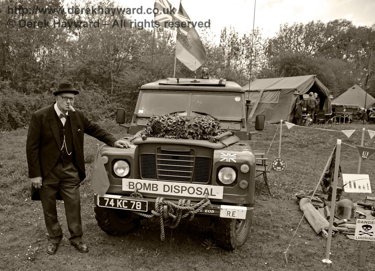 Southern at War, Horsted Keynes,  09.05.2015  12448