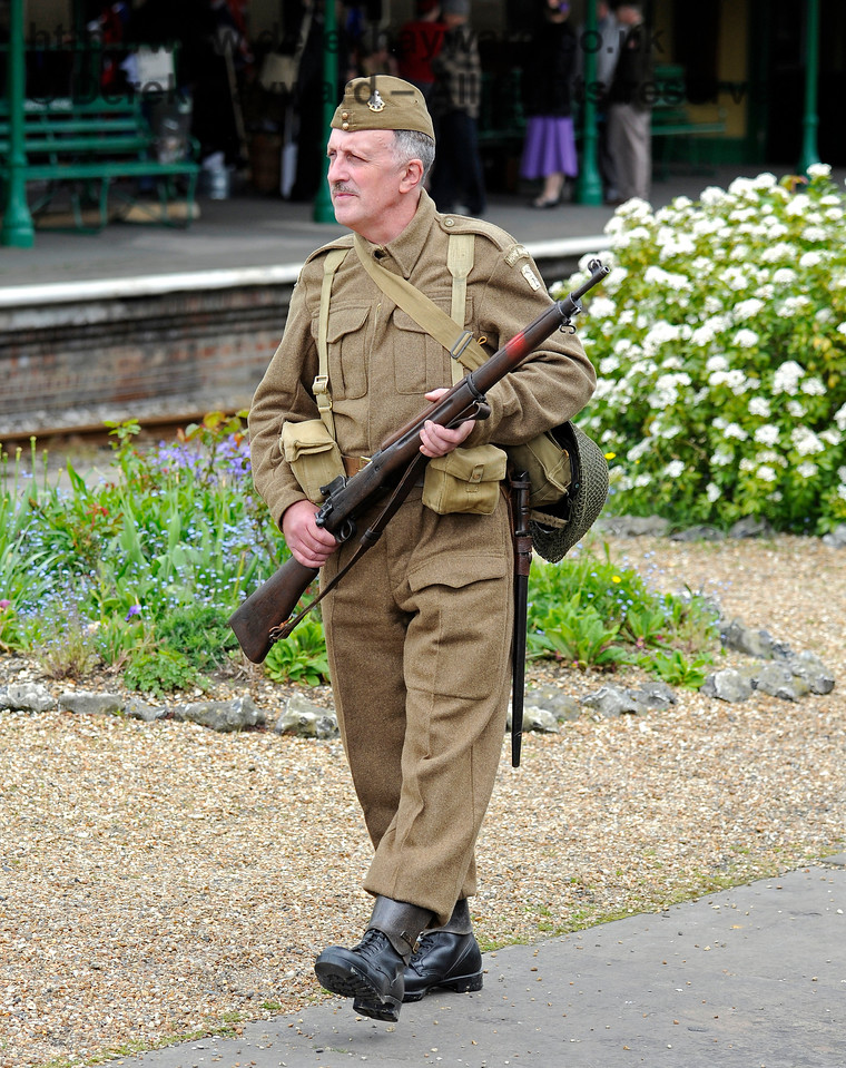 Southern at War, Horsted Keynes,  09.05.2015   10879