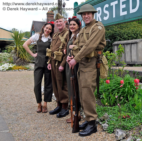 Southern at War, Horsted Keynes,  10.05.2015   12511