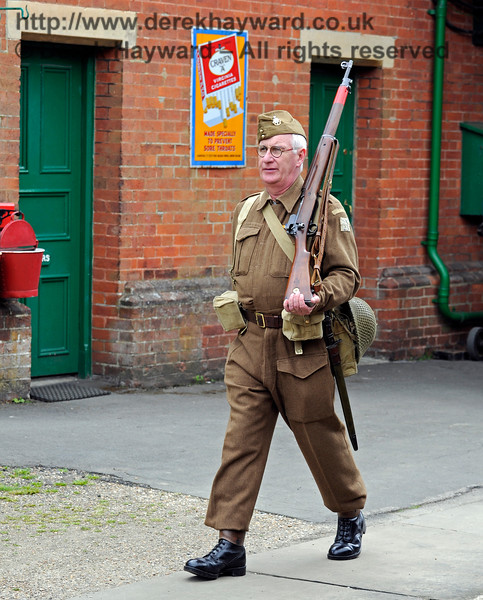 Southern at War, Horsted Keynes,  10.05.2015  11140