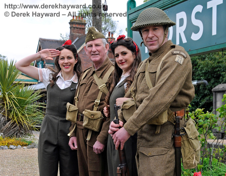 Southern at War, Horsted Keynes,  10.05.2015  12508