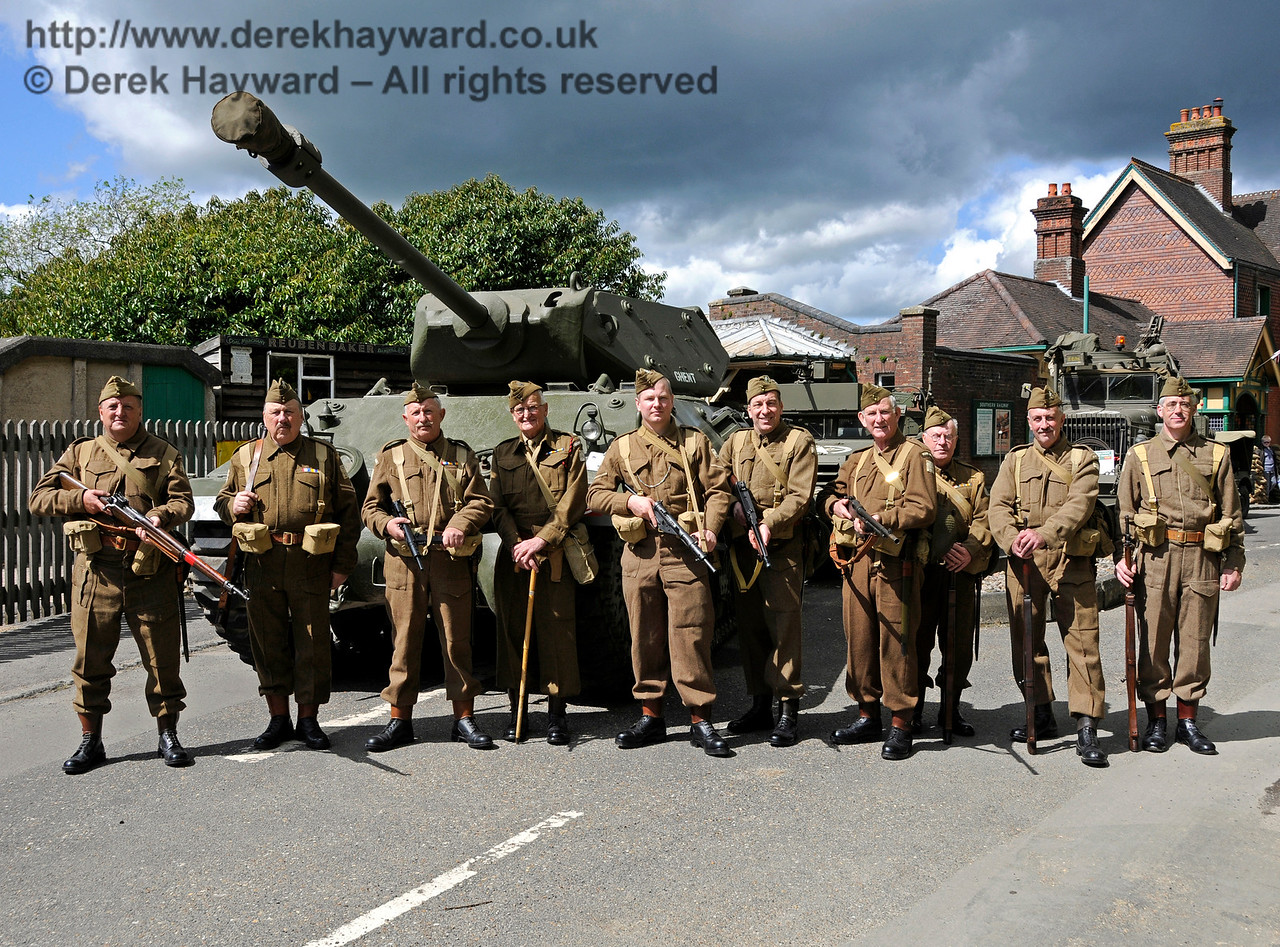 Southern at War, Horsted Keynes,  09.05.2015  12432